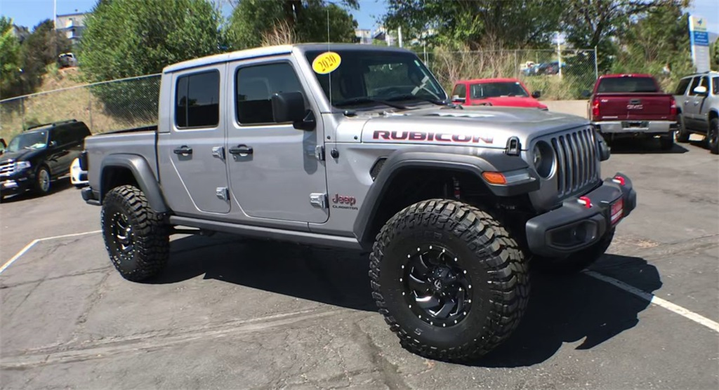 Used 2020 Jeep Gladiator Rubicon 4WD