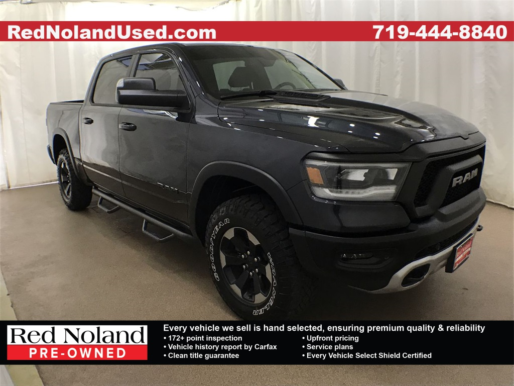 Used 2019 Ram 1500 Rebel 4WD