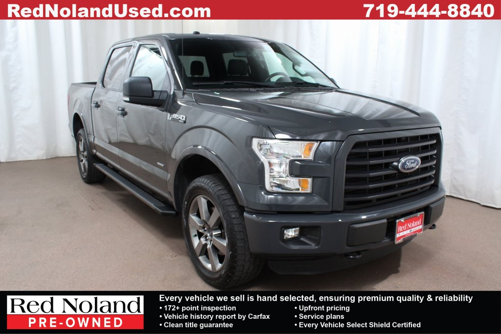 Used 2016 Ford F-150 XLT 4WD