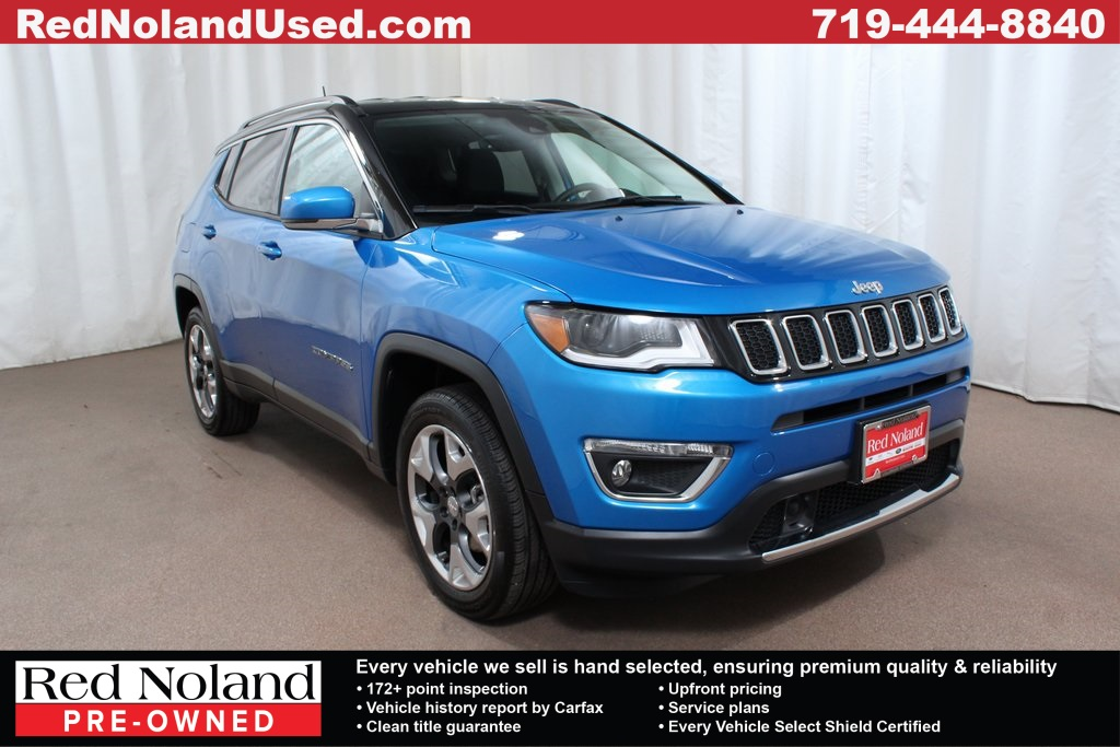 Used 2018 Jeep Compass Limited 4WD