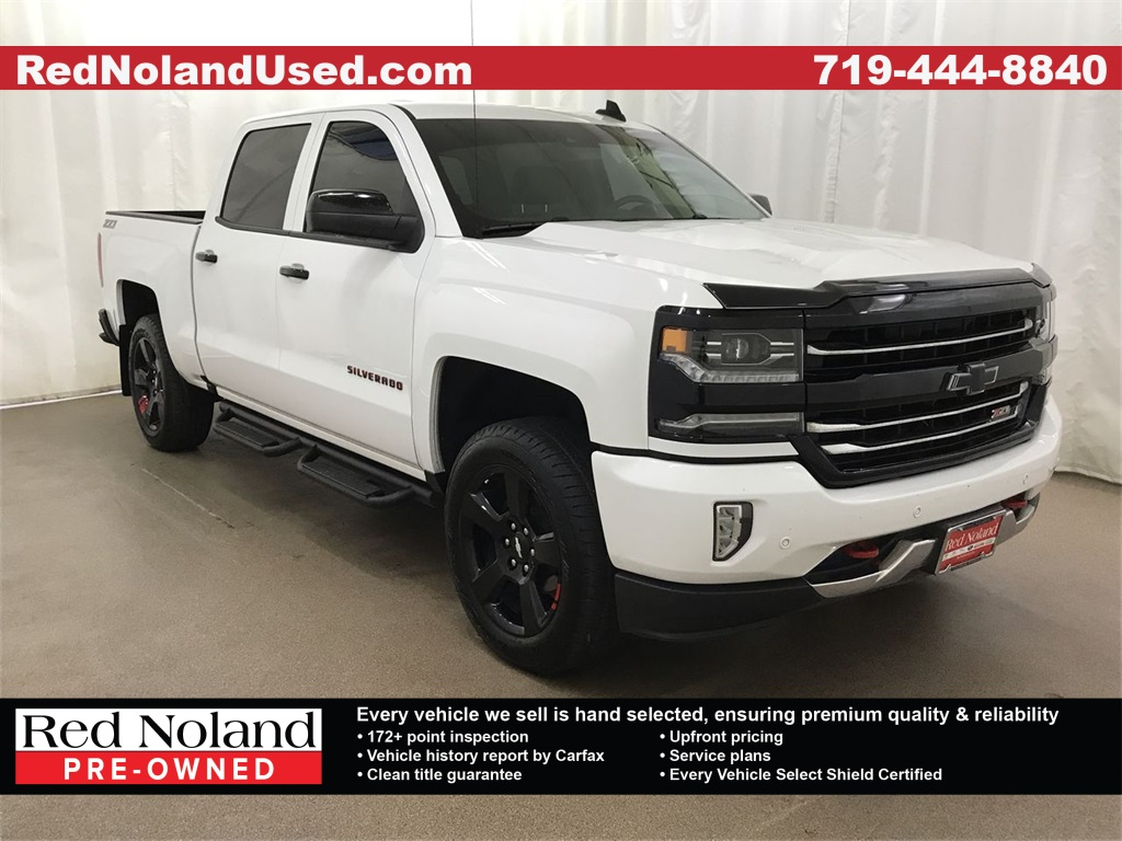 Used 2017 Chevrolet Silverado 1500 Ltz With Navigation 4wd
