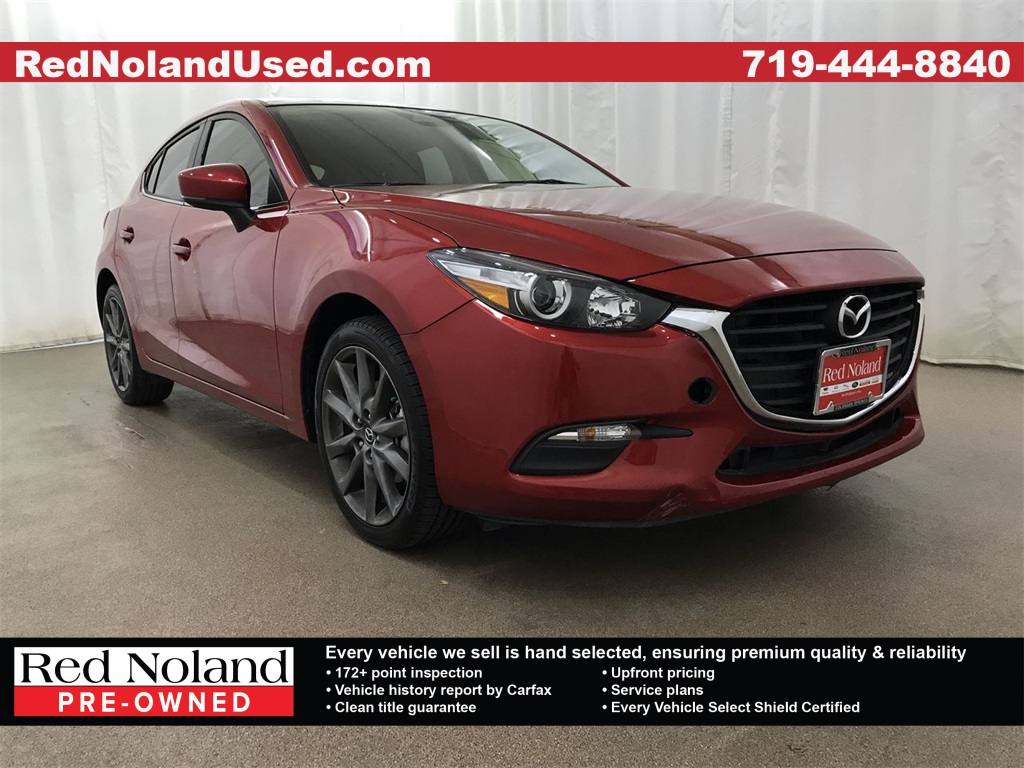 Used 2018 Mazda3 Touring FWD 4D Hatchback