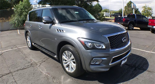Pre-Owned 2016 INFINITI QX80 4WD w/ Captain Chairs