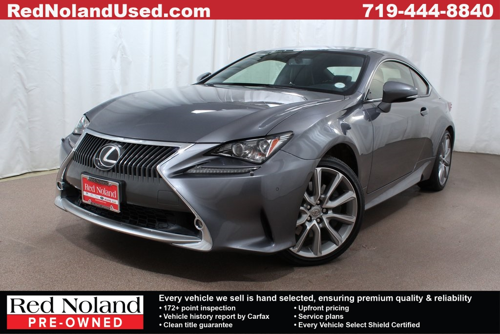 Used 2016 Lexus Rc 300 2d Coupe In Colorado Springs Up000158 Red