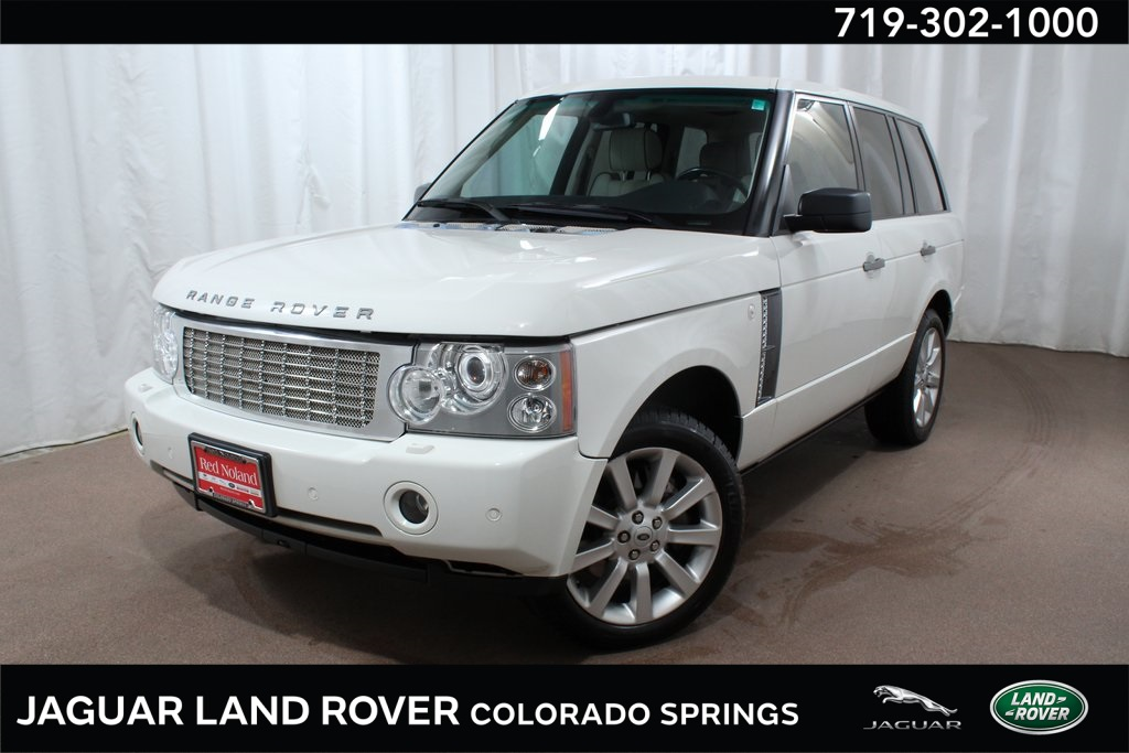 Pre-Owned 2008 Land Rover Range Rover Supercharged