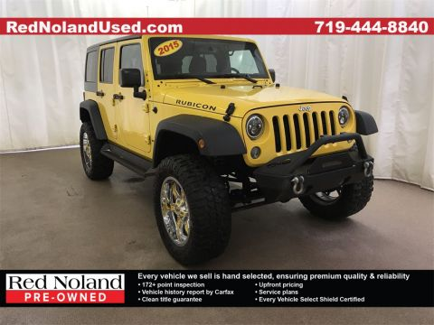 Used 2015 Jeep Wrangler Unlimited Rubicon 4WD