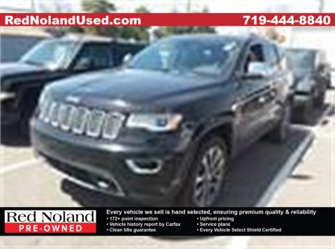 Used 2017 Jeep Grand Cherokee Overland With Navigation & 4WD