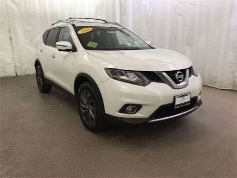 Used 2016 Nissan Rogue SL With Navigation & AWD