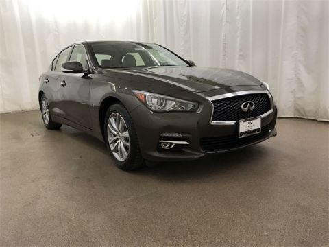 Used 2015 INFINITI Q50 Premium With Navigation & AWD