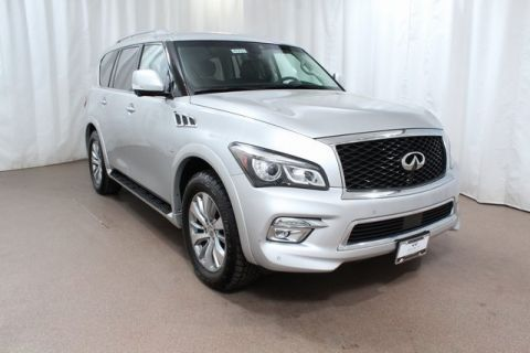 Pre-Owned 2017 INFINITI QX80 4WD w/ Driver Assist