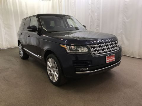 Used 2016 Land Rover Range Rover 5.0L V8 Supercharged With Navigation & 4WD