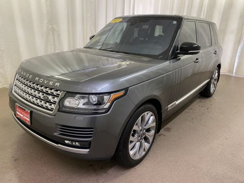 Certified Used 2017 Land Rover Range Rover 5.0L V8 Supercharged With Navigation & 4WD