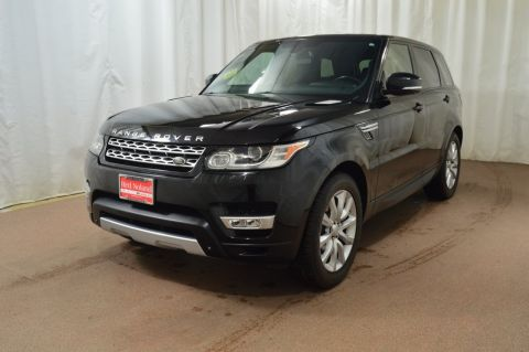 Used 2015 Land Rover Range Rover Sport 3.0L V6 Supercharged HSE With Navigation & 4WD